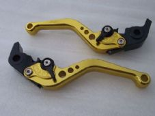 KTM 690 DUKE (08-11), CNC levers short gold/black adjusters, F11/M11